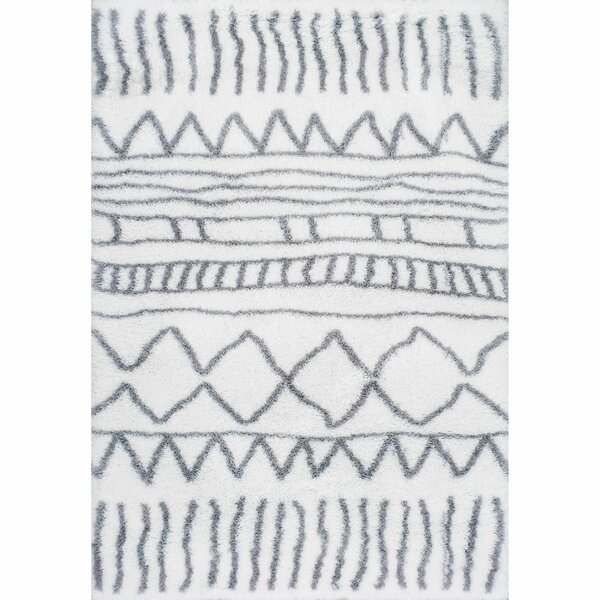 Norby Gray Area Rug by Mercury Row