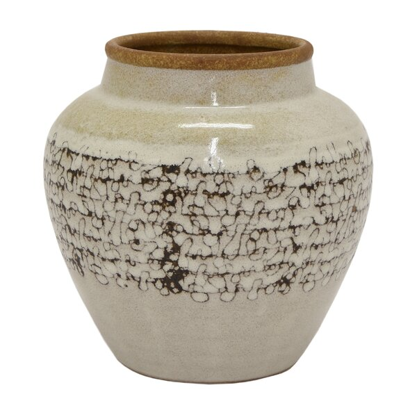 Coulson Ceramic Planter by Bungalow Rose
