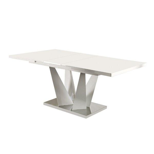 Redick Extendable Dining Table by Orren Ellis Orren Ellis