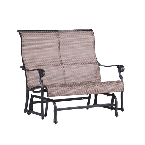 Germano Double Glider Bench With Cushion By Darby Home Co