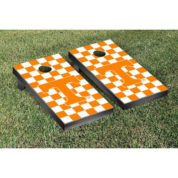 NCAA Tennessee Vols Volunteers Checkerboard Version Cornhole Game Set by Victory Tailgate