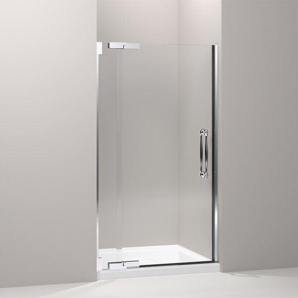 Finial 41.75 x 72.25 Pivot Shower Door by Kohler