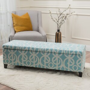 Adair Upholstered Storage Bench by Charlton Home