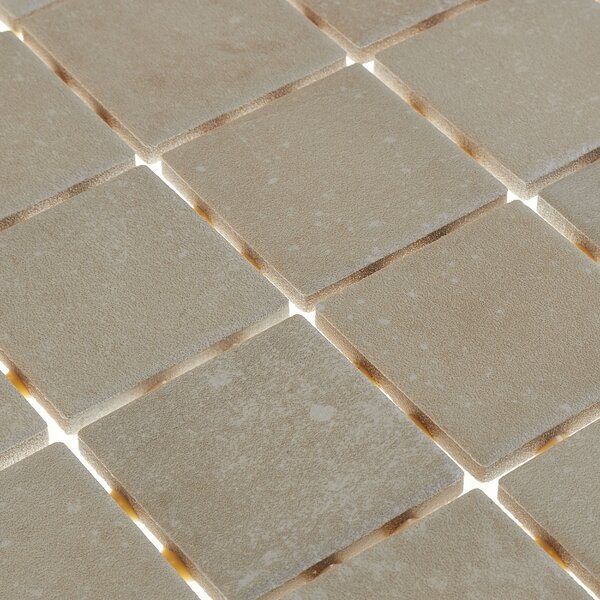 Fairfield 12 x 24 Ceramic Mosaic Tile in Cream by Itona Tile