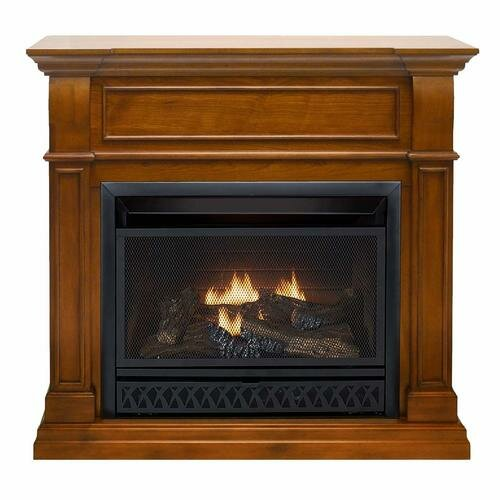 Fonda Vent Free Freestanding Natural Gas/Propane Fireplace With Remote By Darby Home Co