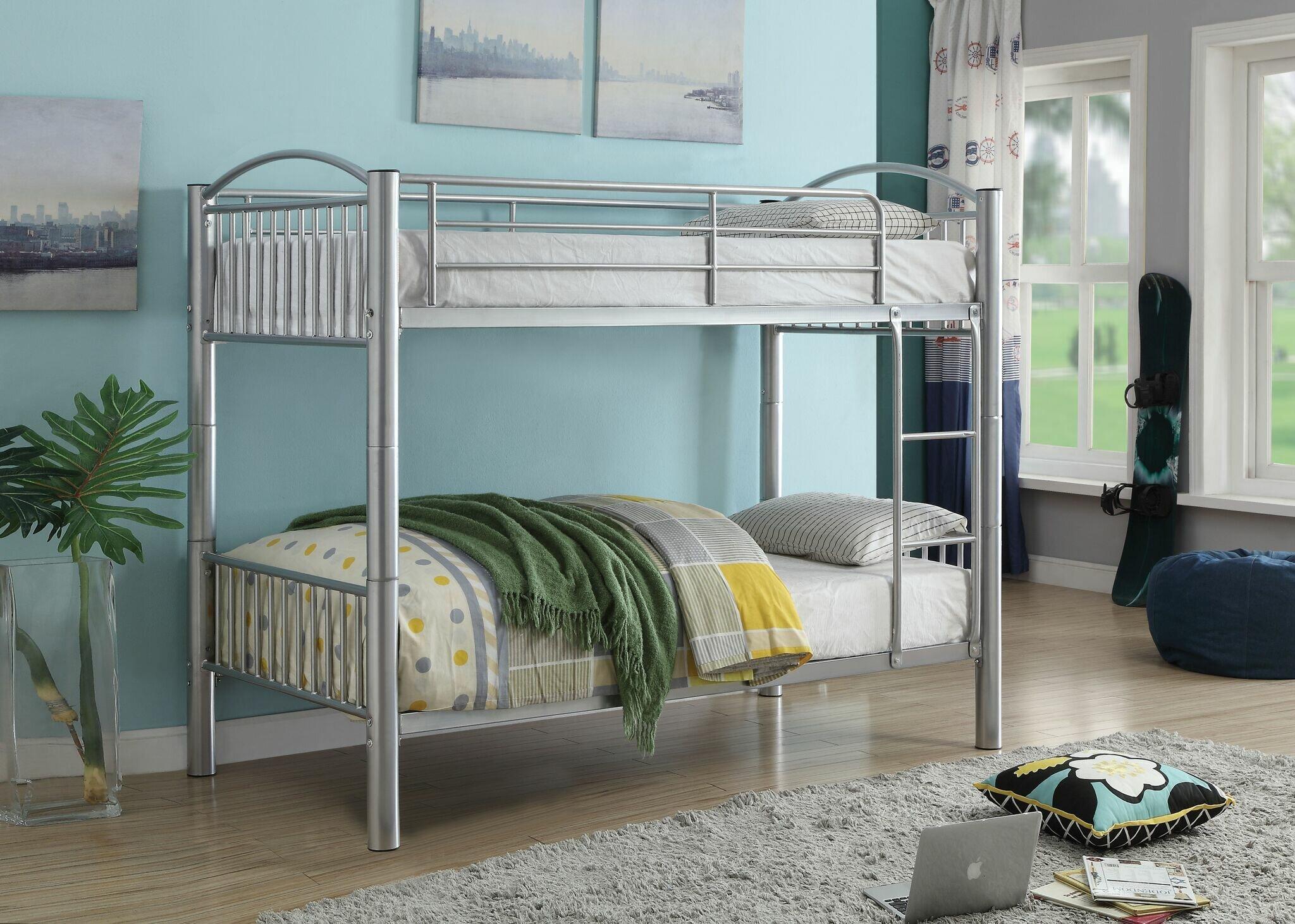 Picture of: Zoomie Kids Kinch Bunk Bed Wayfair