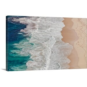 'Where the Ocean Ends' Photographic Print on Canvas by Highland Dunes
