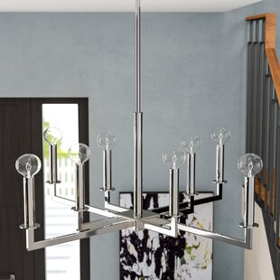 Reviews Middleburg 8-Light Chandelier By Wade Logan