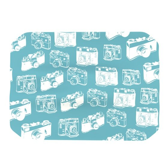 Camera Pattern Placemat by KESS InHouse