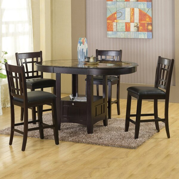 Degraffenreid 5 Piece Dining Set By Hazelwood Home Top Reviews