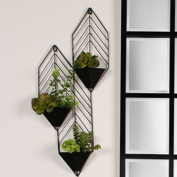 Tain Metal Wall Planter by Kate and Laurel