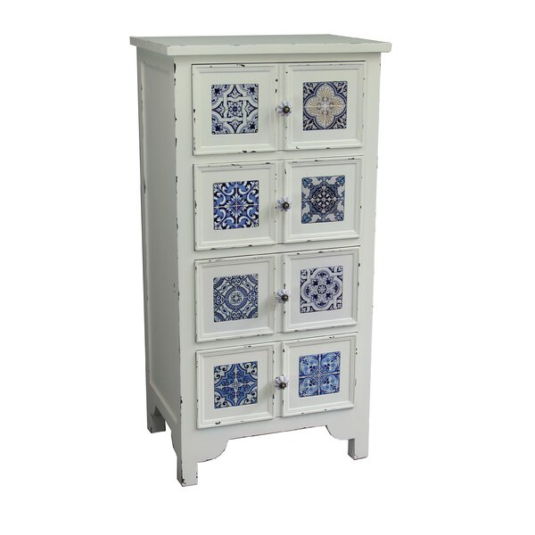 Antique Wooden 4 Drawer Accent Chest [Jeco Inc ]