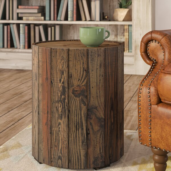 Shellman Round End Table by Three Posts