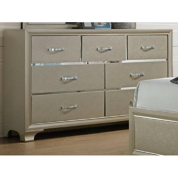 Zed 7 Drawer Dresser by House of Hampton