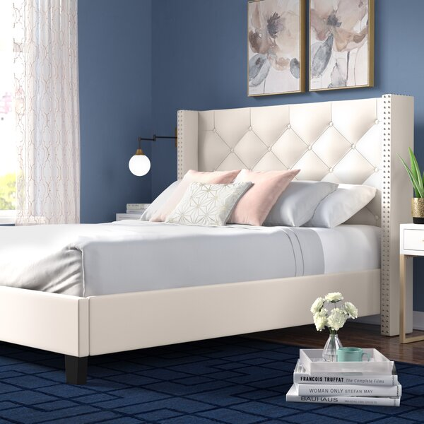 Elsmoriet Queen Upholstered Platform Bed by Mercer41