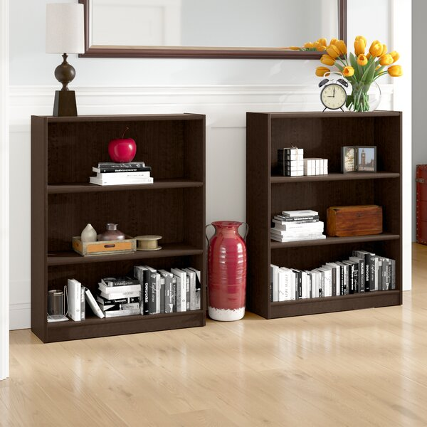 Hilbert Standard Bookcase (Set of 2) by Red Barrel Studio