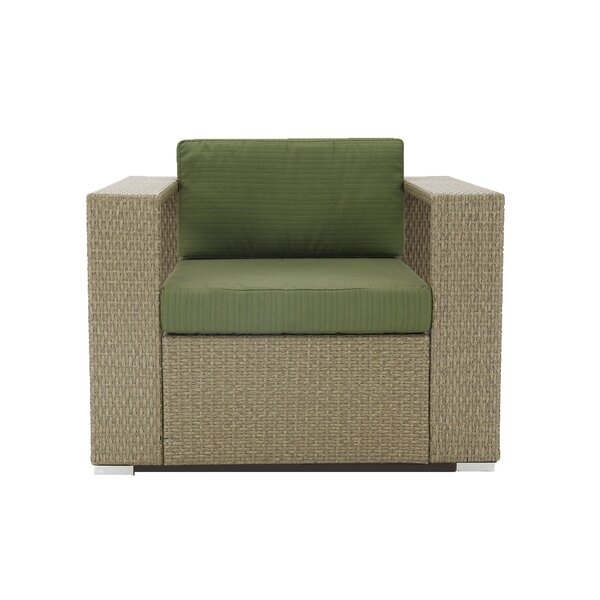 Axel Patio Chair with Cushion (Set of 2) by Brayden Studio