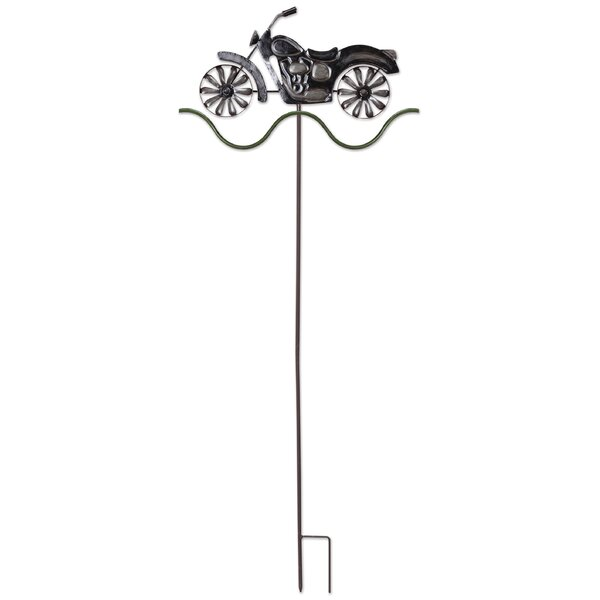 Motorcycle Garden Stake by Sunset Vista Designs Co.