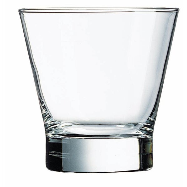 Pintado 10.5 Oz. Flared Double Old Fashion Glass (Set of 4) by Mint Pantry