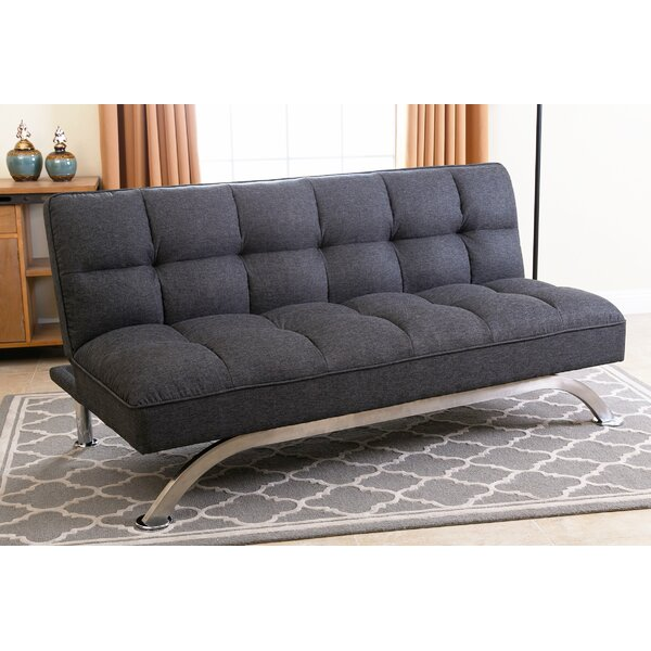 Cleta Click Clack Convertible Sofa by Ivy Bronx