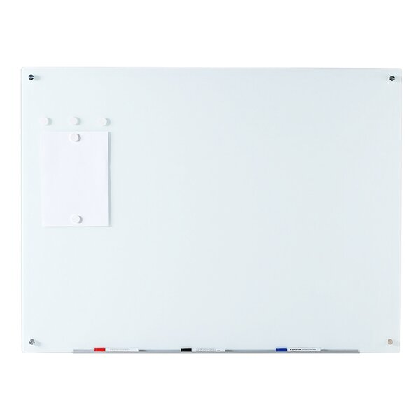 Magnetic Wall Mounted Glass Board by Audio-Visual