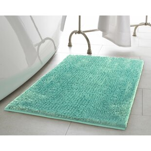 Blue Bath Rugs & Mats You\'ll Love | Wayfair