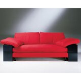 Mies Van der Rohe Leather Sofa by Gordon International