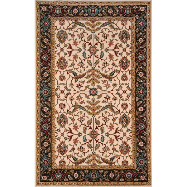 Forrestal Charcoal Area Rug by Astoria Grand