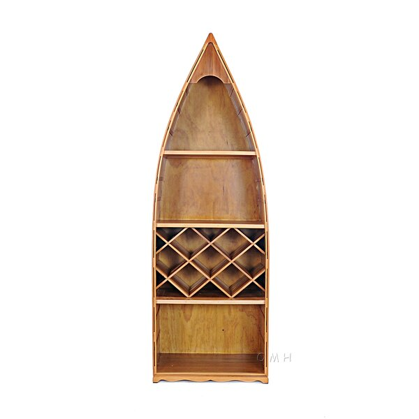 Canoe 7 Bottle Floor Wine Rack by Old Modern Handicrafts