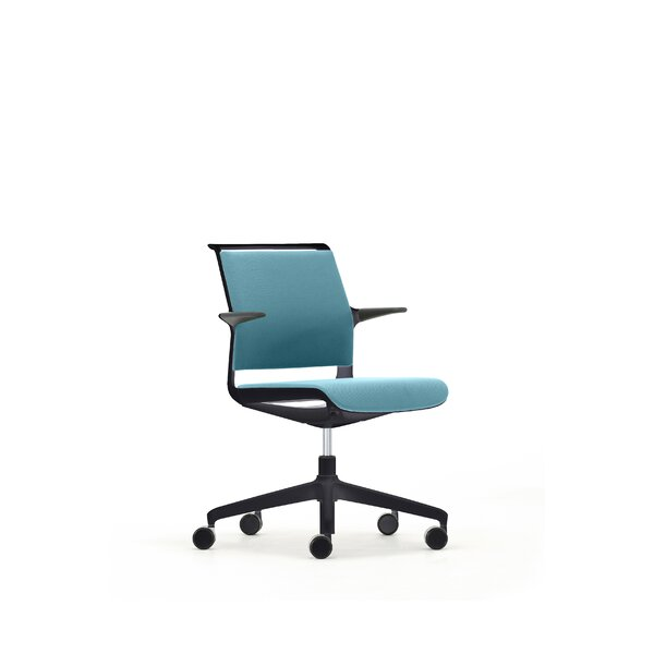 Upholstered Back Ad-Lib Office Chair by Senator