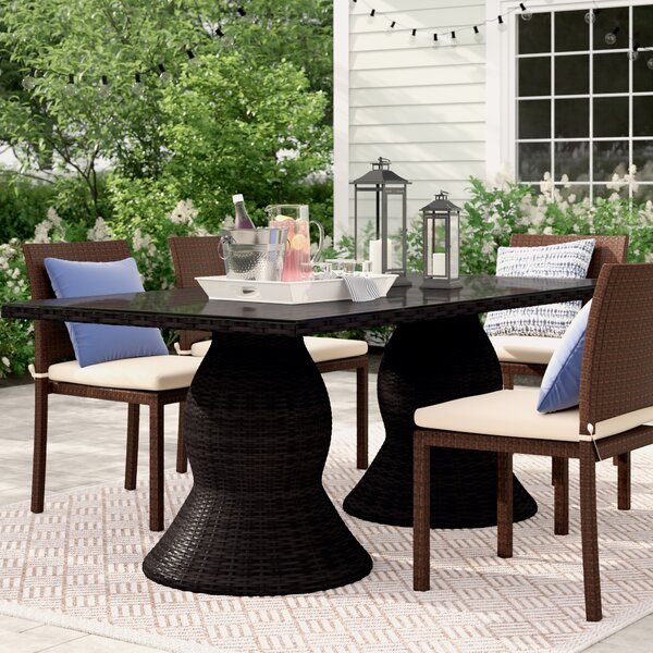 Stratford Dining Table by Sol 72 Outdoor