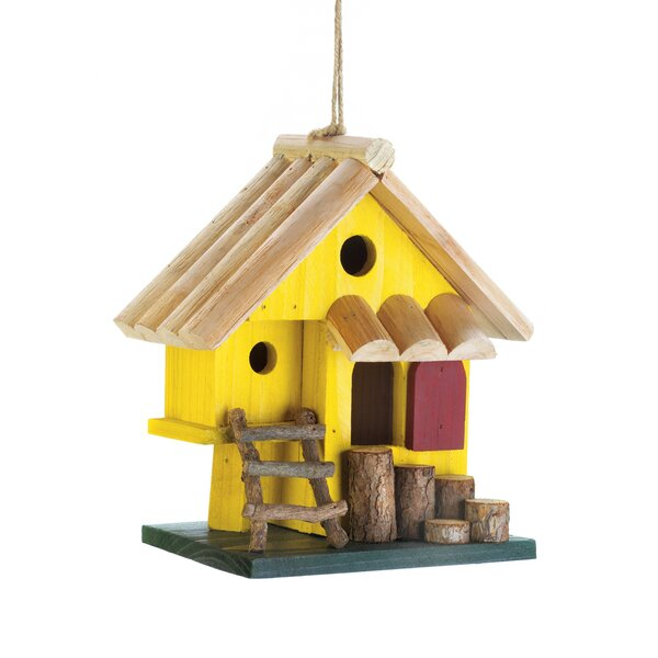 Tree Fort 8 in x 8 in x 4.5 in Birdhouse by Zingz & Thingz