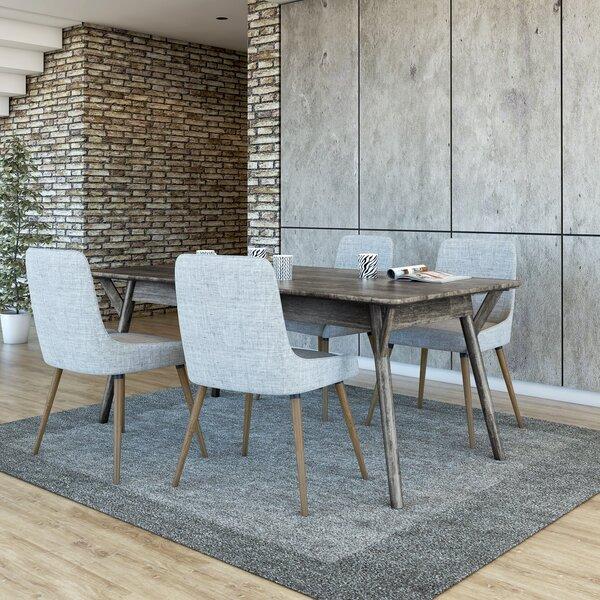 Neace 5 Piece Solid Wood Dining Set by Brayden Studio