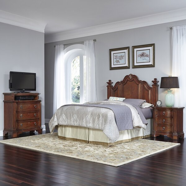 Whitfield Platform 3 Piece Bedroom Set by Astoria Grand