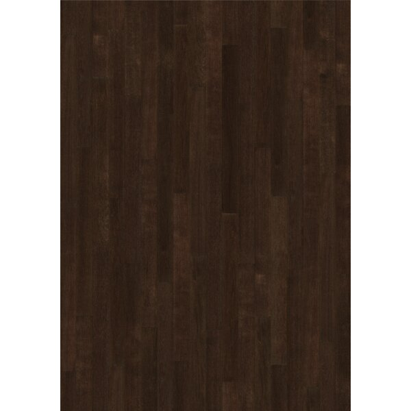 Linnea 4-5/8 Engineered Oak Hardwood Flooring in Coffee by Kahrs