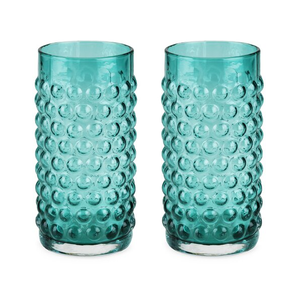 Country Cottage Hobnail Highball Glass (Set of 2) by Twine