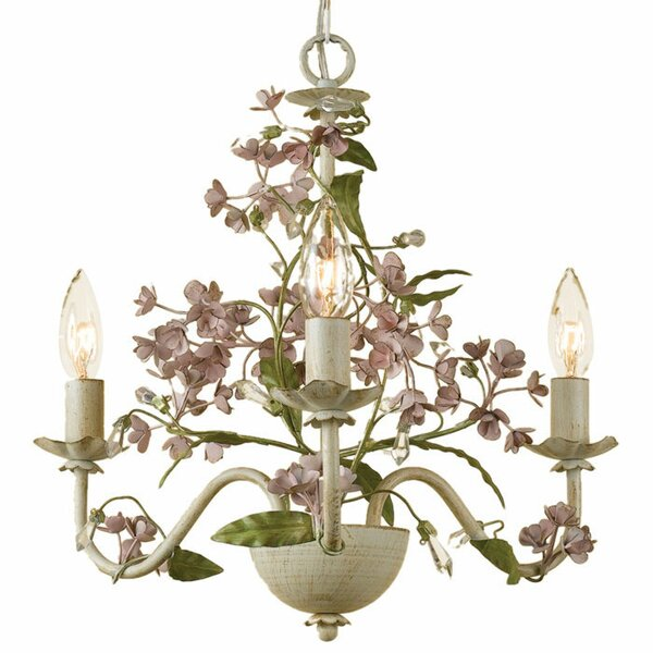Aria 3-Light Candle Style Chandelier by Birch Lane