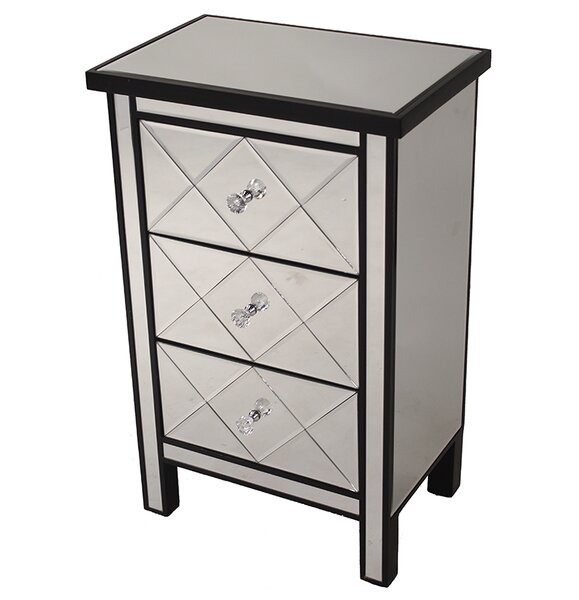 Channelle 3 Drawer Accent Chest by Willa Arlo Interiors Willa Arlo Interiors