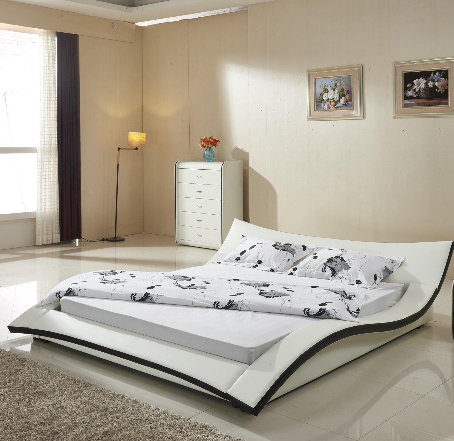 Orren Ellis Kristie California King Upholstered Platform Bed