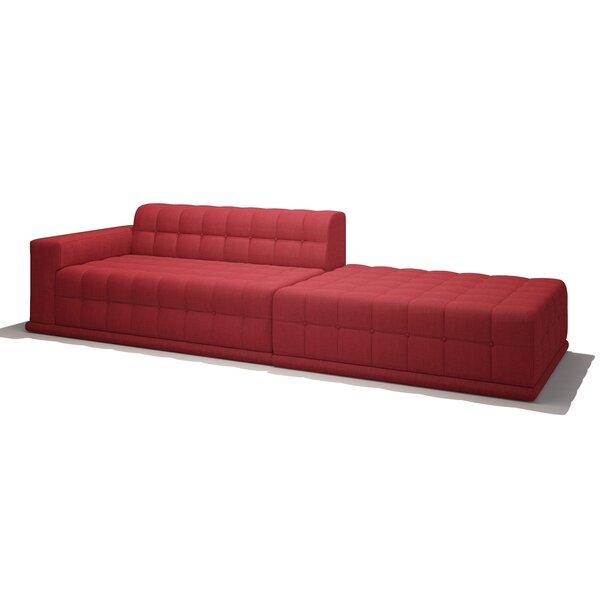 Bump Bump One Arm Sofa with Chaise by TrueModern