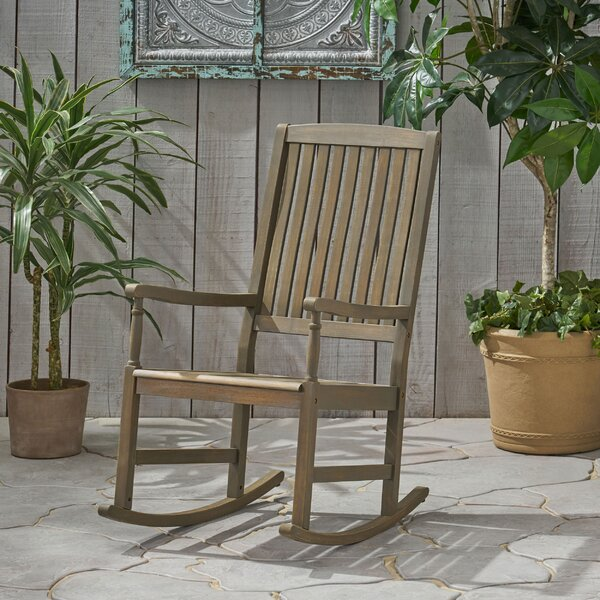 Lincolnwood Rocking Chair By Highland Dunes