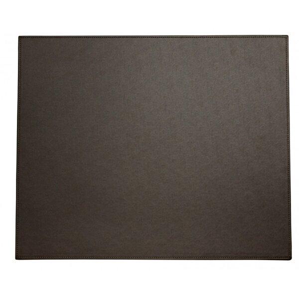 Faux Leather Desk Mat by Symple Stuff