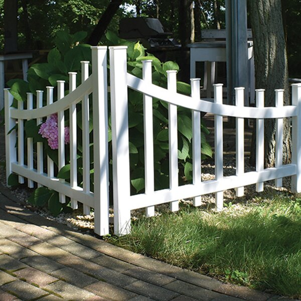 3 ft. x 4 ft. Corner Accent Fence by Xpanse Select Vinyl Railing