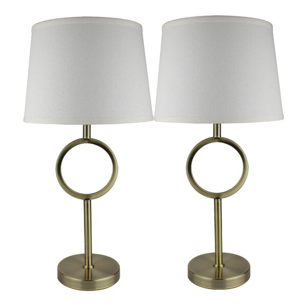 Edmund 25 Table Lamp (Set of 2) by Mercer41