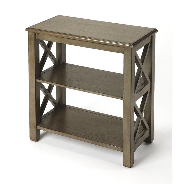 Tripp Etagere Bookcase by Highland Dunes