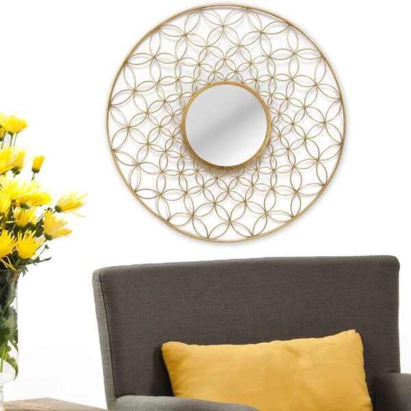Elyse Wall Mirror by Stratton Home Decor