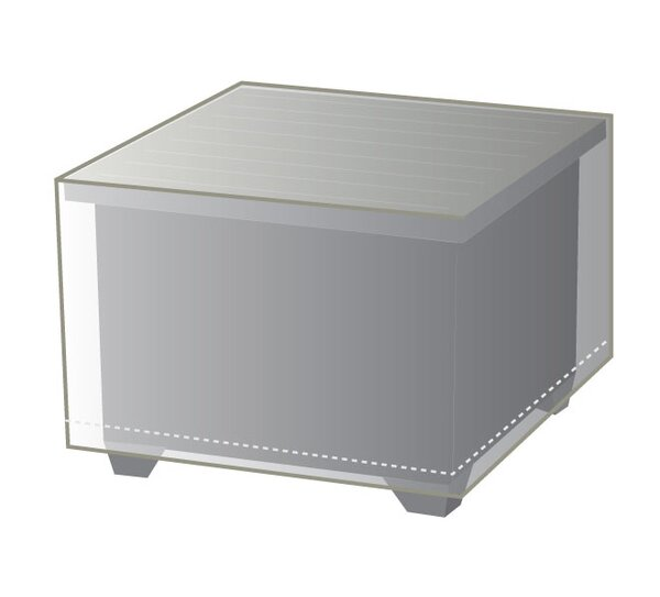 Outdoor Protective Wicker End Table Cover by TK Classics