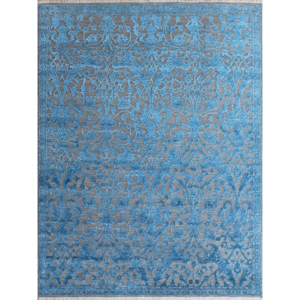 Chipping Campden Modern & Contemporary Hand-Tufted Blue Area Rug by House of Hampton