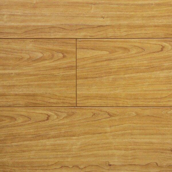 7 x 48 x 12.3mm Laminate Flooring in Natural Cherry (Set of 22) by Serradon