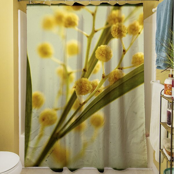 Vintage Botanicals I Shower Curtain by Manual Woodworkers & Weavers